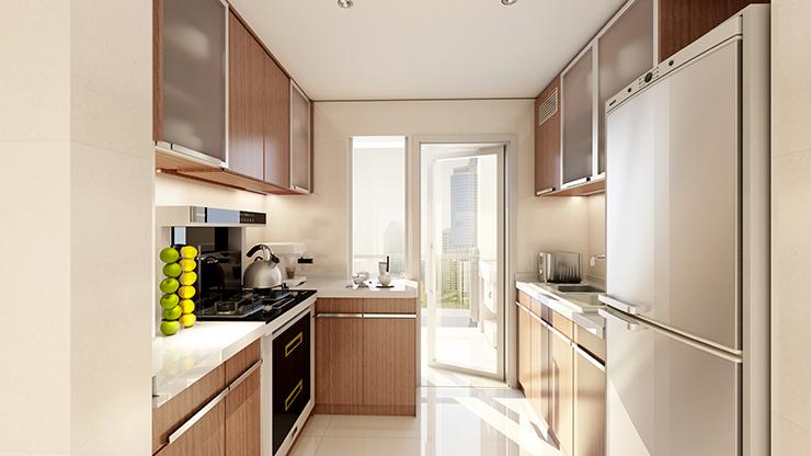 论开放式厨房选一台金利集成灶的重要性
